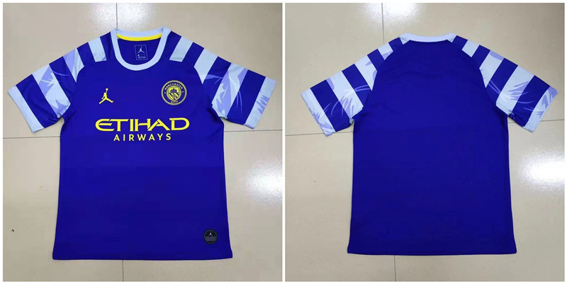2019-20 Manchester City Home Thailand Soccer Jersey