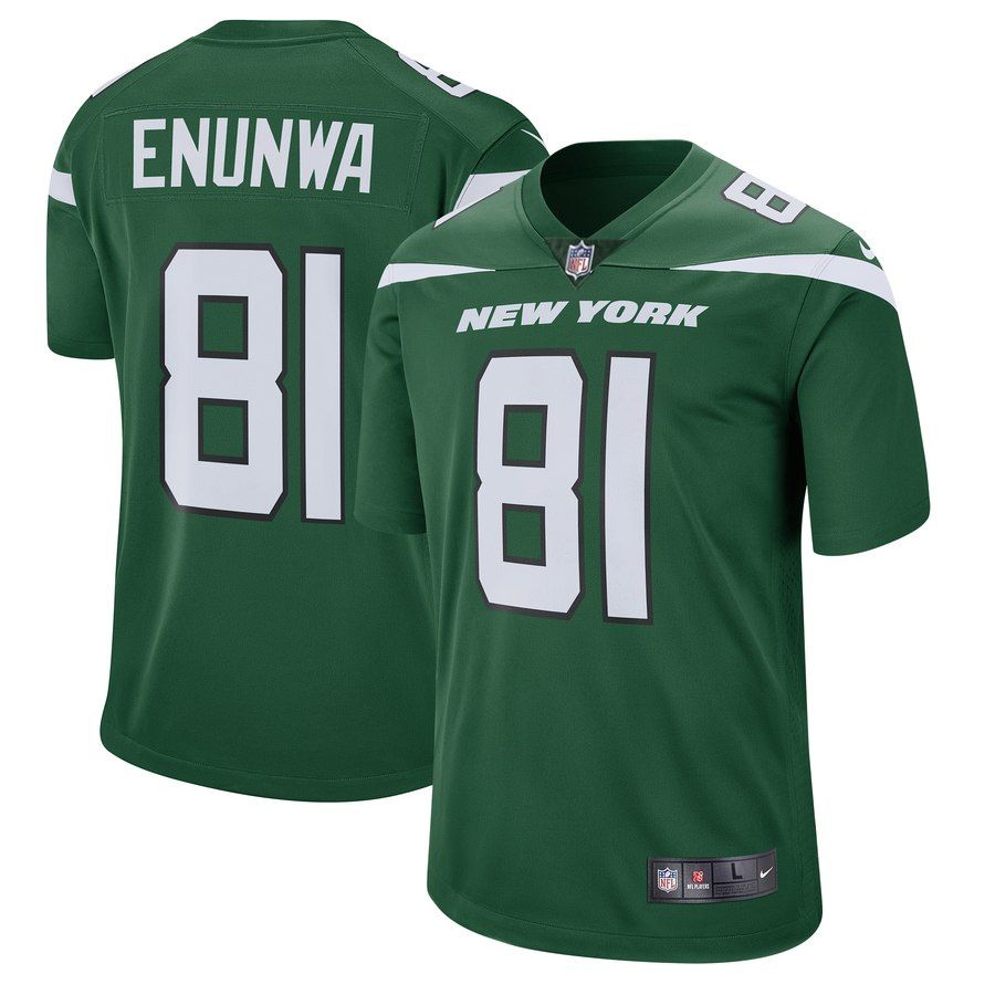 Nike Jets 81 Quincy Enunwa Green New 2019 Vapor Untouchable Limited Jersey