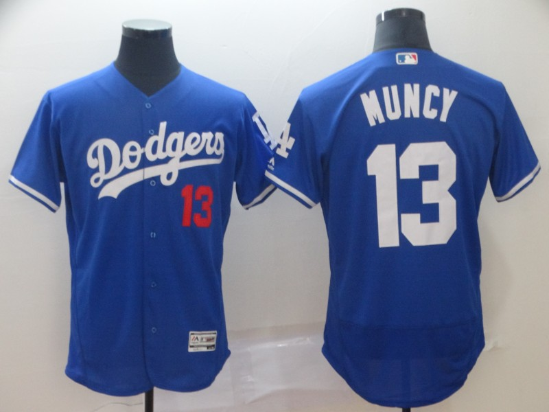 Dodgers 13 Max Muncy Royal Flexbase Jersey