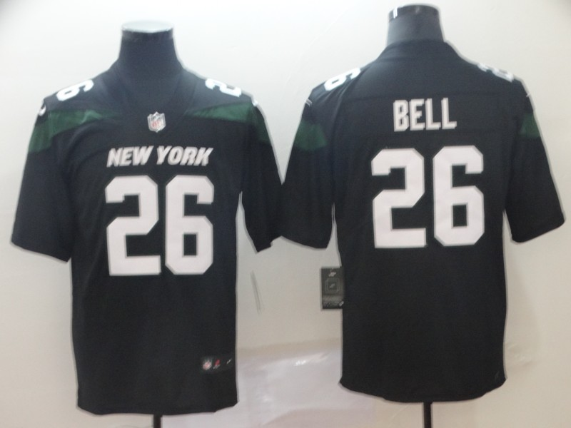 Nike Jets 26 Le'Veon Bell Black New 2019 Vapor Untouchable Limited Jersey