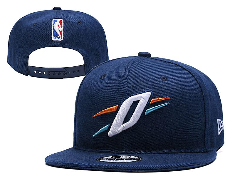 Thunder Team Logo Navy Adjustable Hat YD