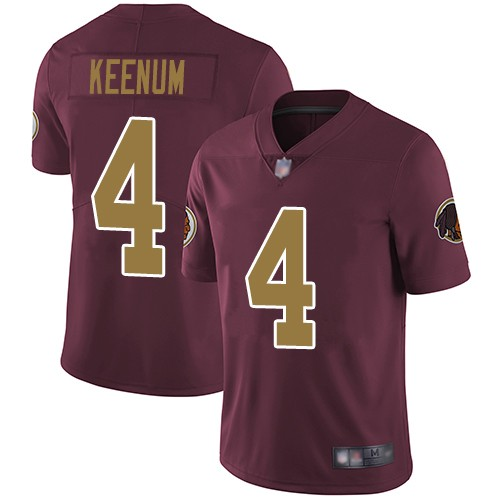 Nike Redskins 4 Case Keenum Burgundy Alternate Vapor Untouchable Limited Jersey