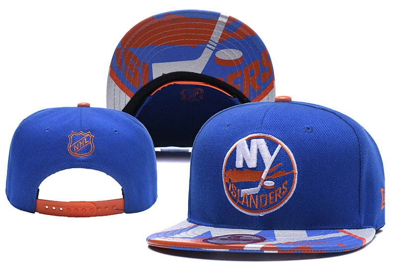 Islanders Team Logo Blue Adjustable Hat YD