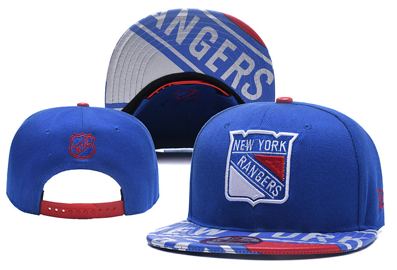 Rangers Team Logo Blue Adjustable Hat YD