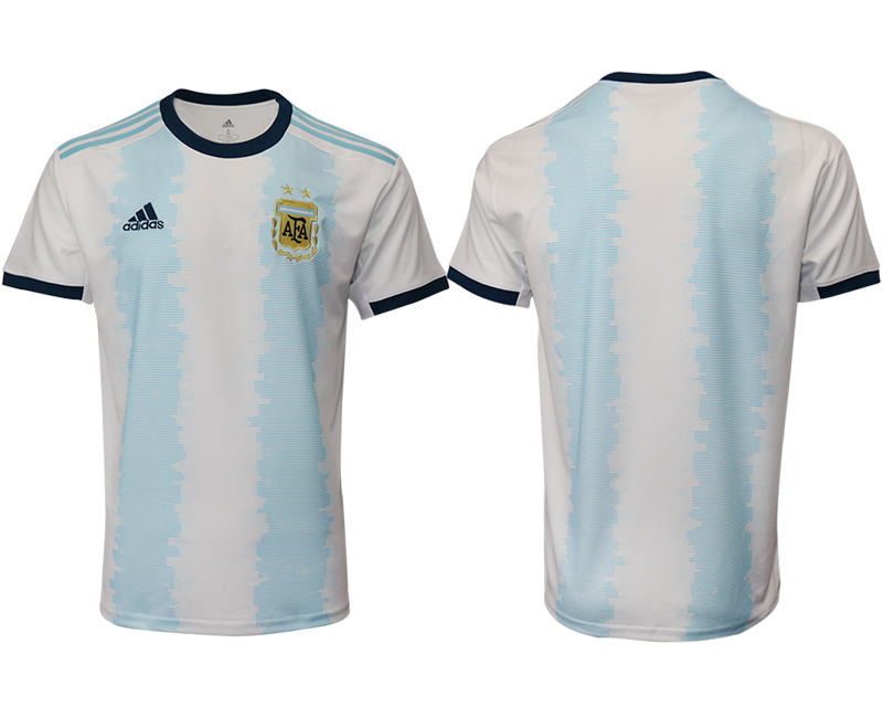 2019-20 Argentina Home Thailand Soccer Jersey