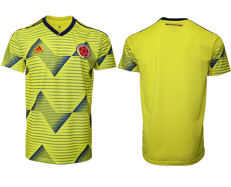 2019-20 Colombia Home Thailand Soccer Jersey