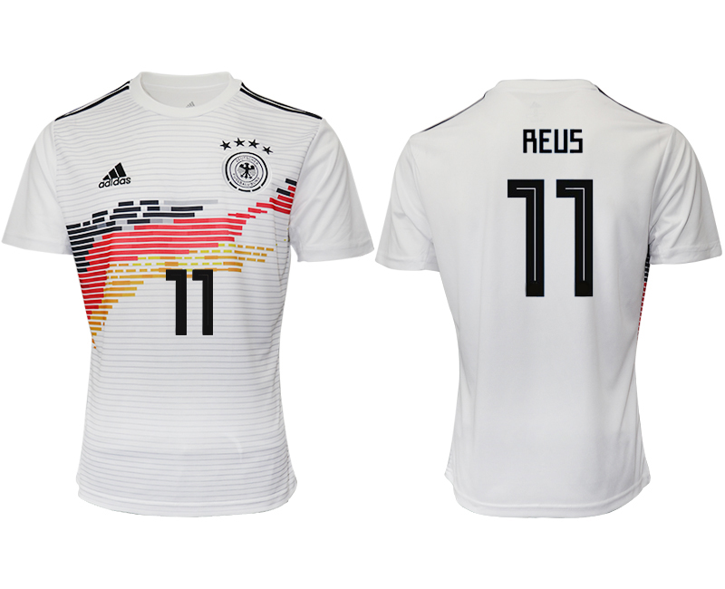 2019-20 Germany 11 REUS Home Thailand Soccer Jersey