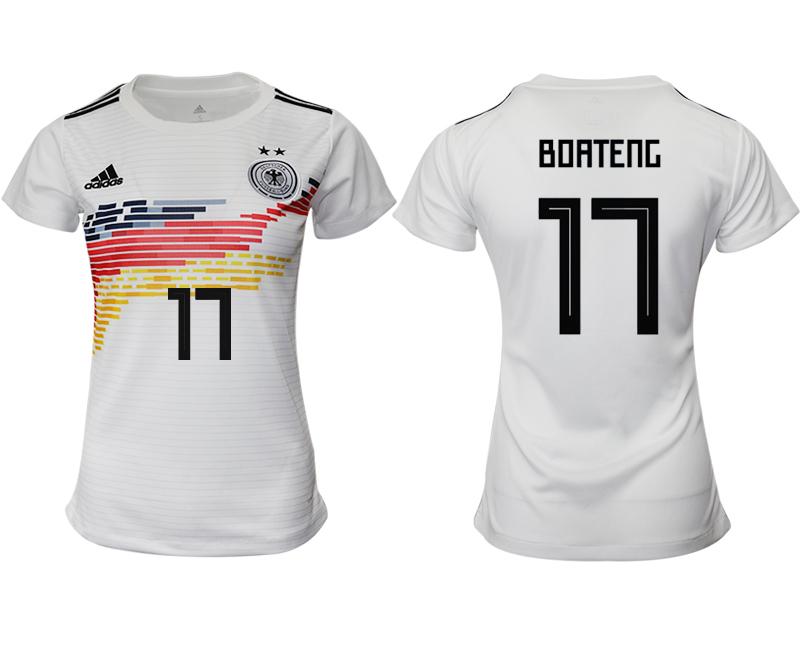 2019-20 Germany 17 BOATENG Home Women Soccer Jersey
