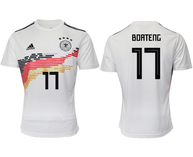 2019-20 Germany 17 BOATENG Home Thailand Soccer Jersey