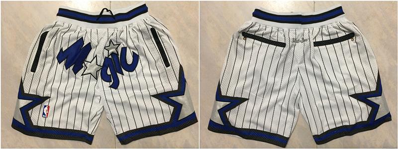 Magic White Stitched Shorts