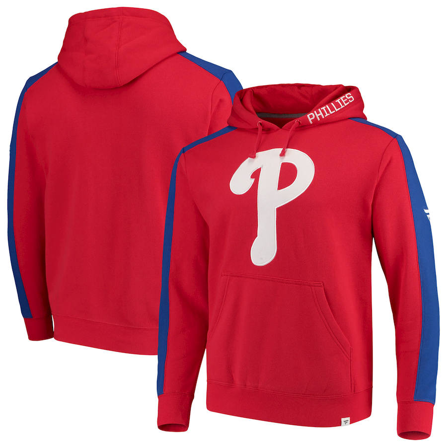 Philadelphia Phillies Fanatics Branded Iconic Fleece Pullover Hoodie Red & Royal