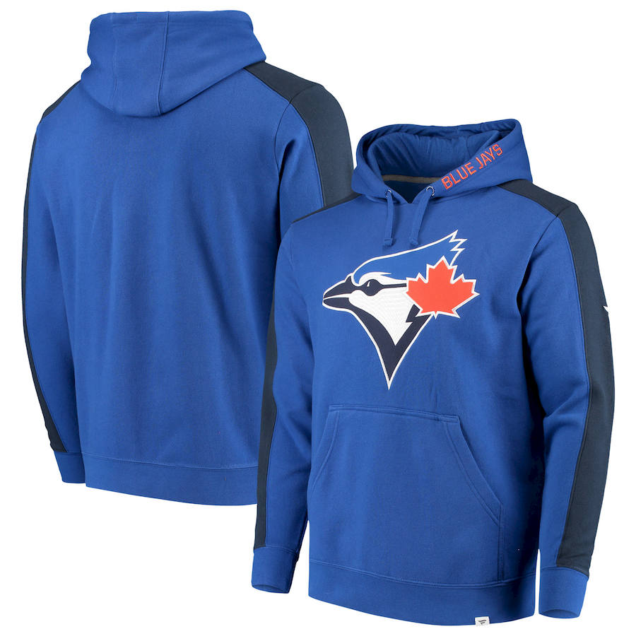 Toronto Blue Jays Fanatics Branded Iconic Fleece Pullover Hoodie Royal