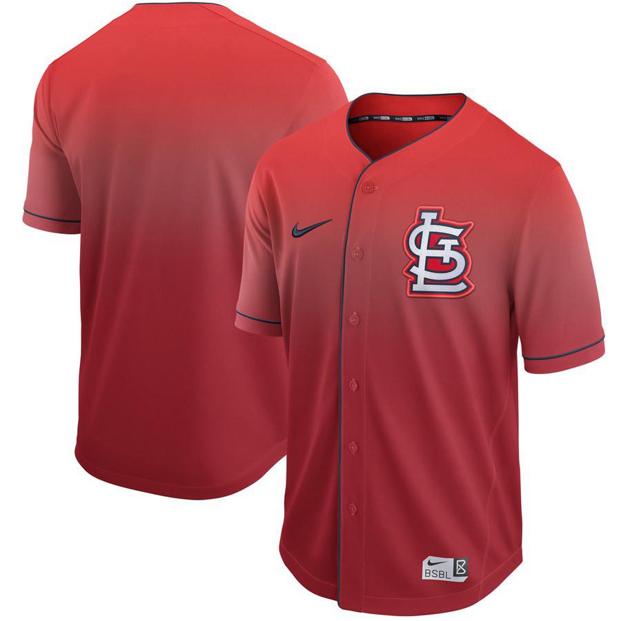 Cardinals Blank Red Drift Fashion Jersey
