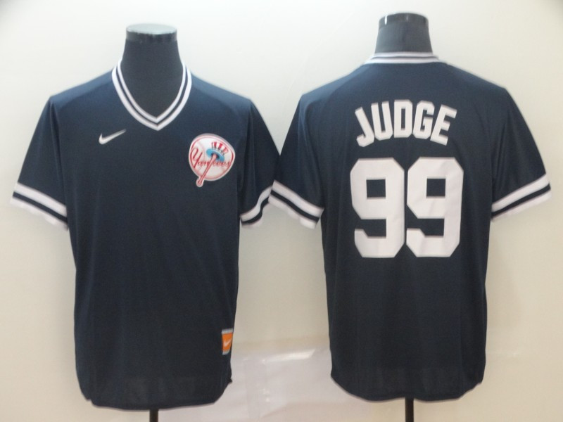 Yankees 99 Aaron Judge Black Throwback Jersey
