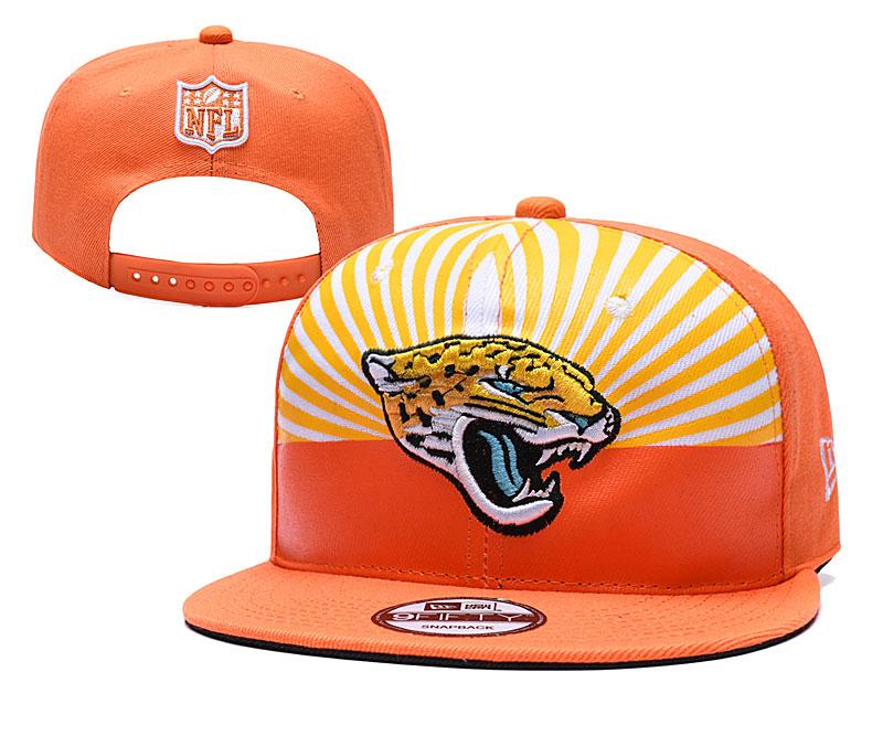 Jaguars Team Logo Orange 2019 Draft Adjustable Hat YD