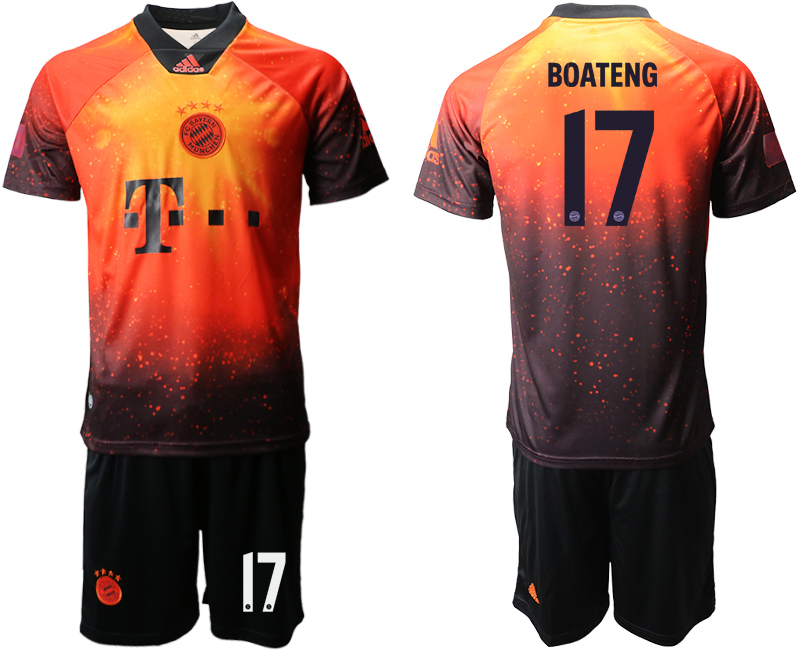 2018-19 Bayern Munich 17 BOATENG FIFA Digital Kit Soccer Jersey