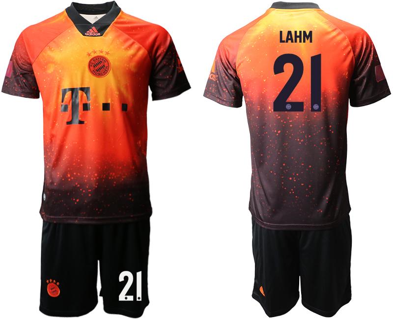 2018-19 Bayern Munich 21 LAHM FIFA Digital Kit Soccer Jersey