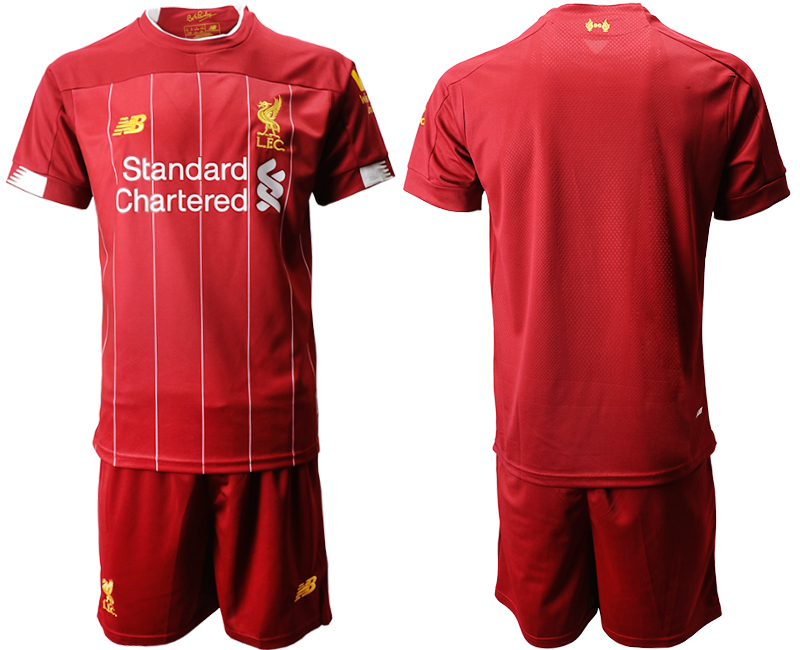 2019-20 Liverpool Home Soccer Jersey