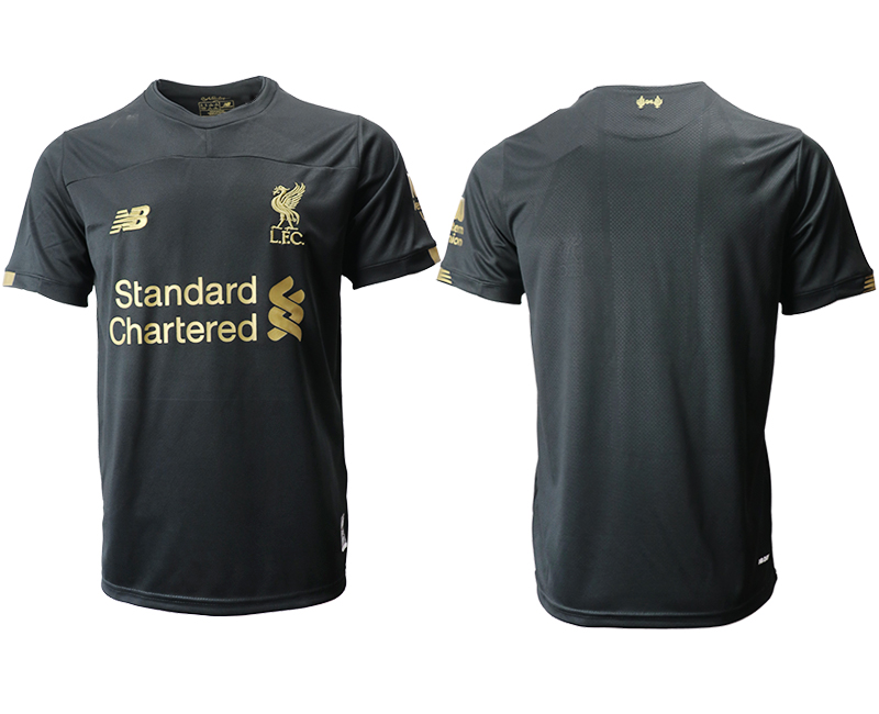 2019-20 Liverpool Black Goalkeeper Thailand Soccer Jersey