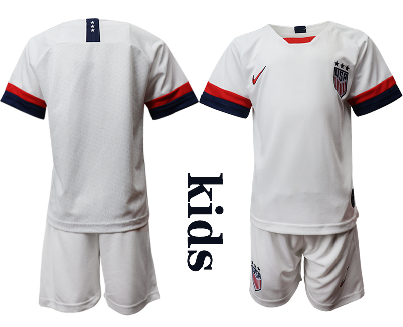 2019-20 United States Youth Home Soccer Jersey