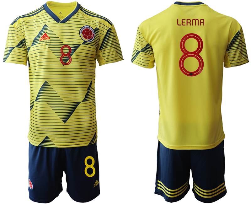 2019-20 Colombia 8 LERMA Home Soccer Jersey