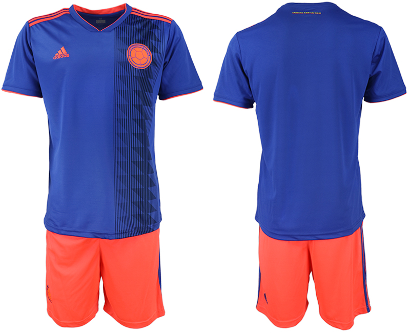 2019-20 Colombia Away Soccer Jersey