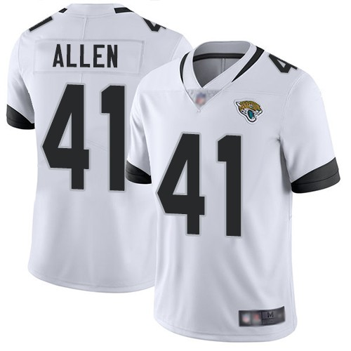 Nike Jaguars 41 Josh Allen White 2019 NFL Draft First Round Pick Vapor Untouchable Limited Jersey