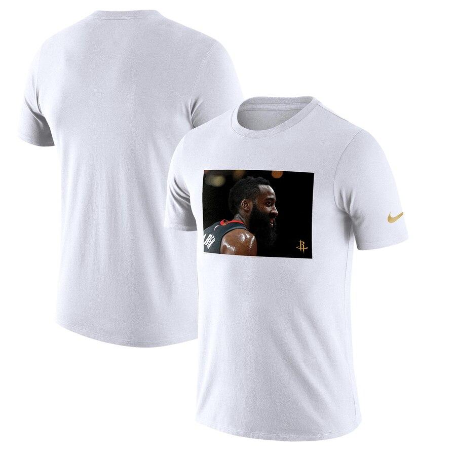 James Harden Houston Rockets Nike Player Pack Performance T-Shirt White