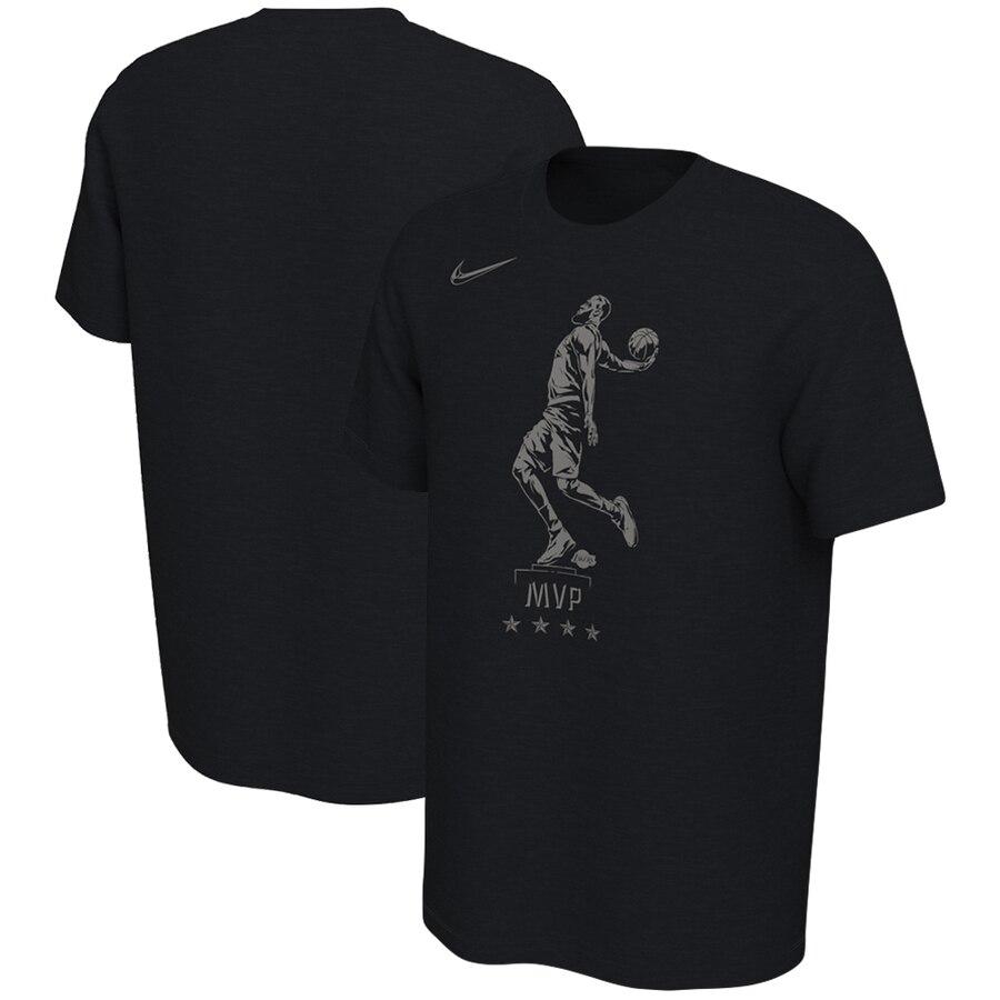 LeBron James Los Angeles Lakers Nike MVP Try Performance T-Shirt Black