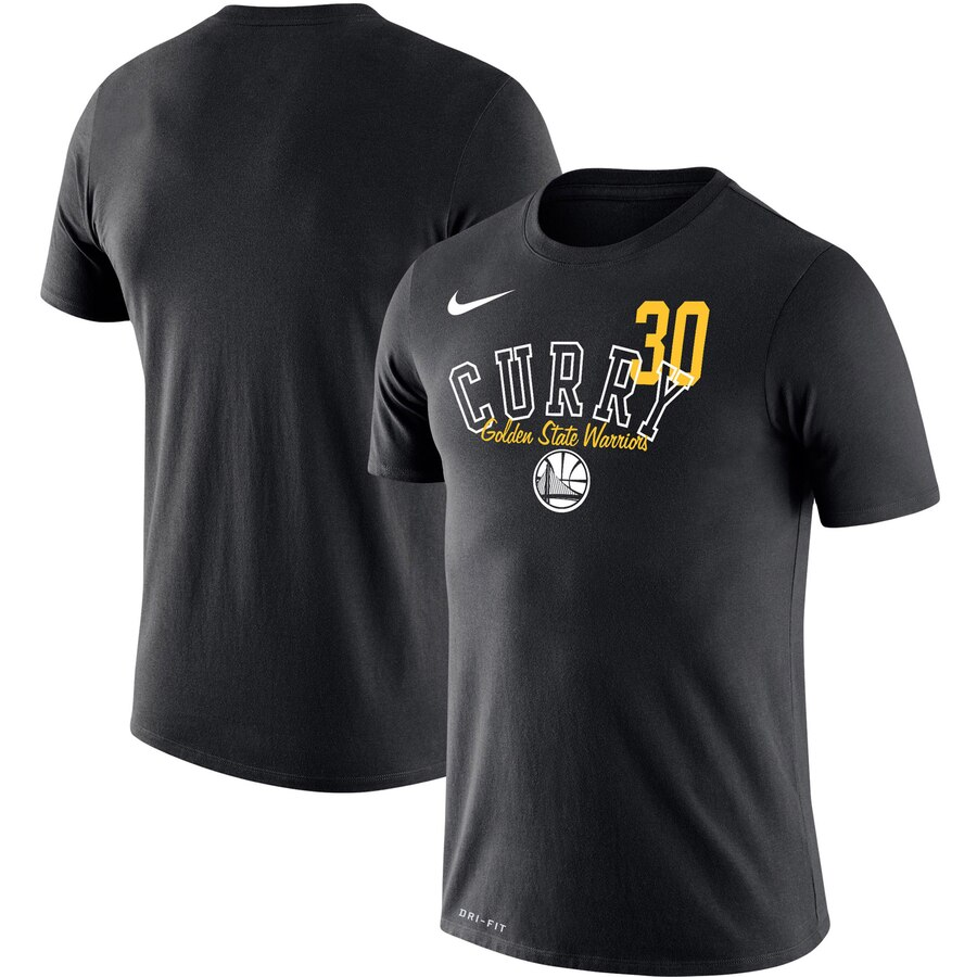 Stephen Curry Golden State Warriors Nike Player Performance T-Shirt Black