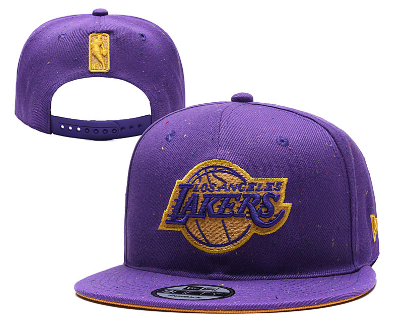 Warriors Team Logo Purple Adjustable Hat TX