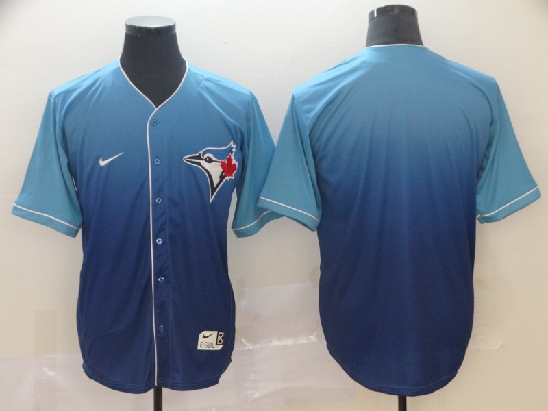 Blue Jays Blank Royal Drift Fashion Jersey