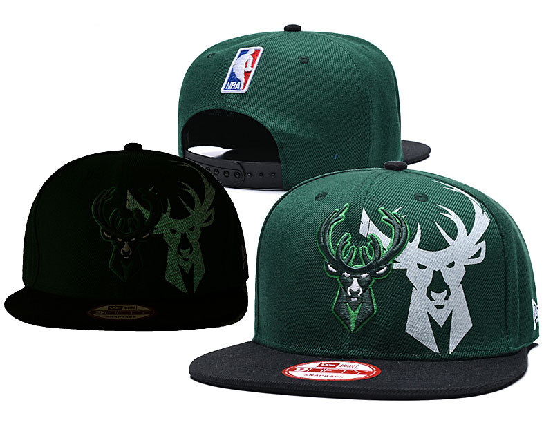 Bucks Fresh Logo Green Black Adjustable Hat GS