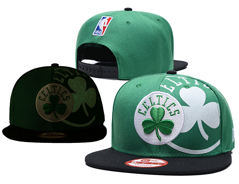 Celtics Team Logo Green Adjustable Hat GS