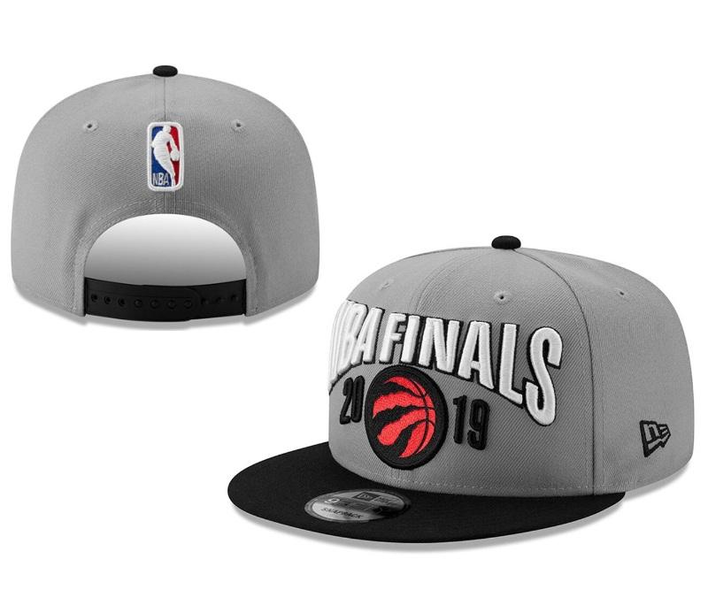 Raptors Team Logo Gray Adjustable Hat YD