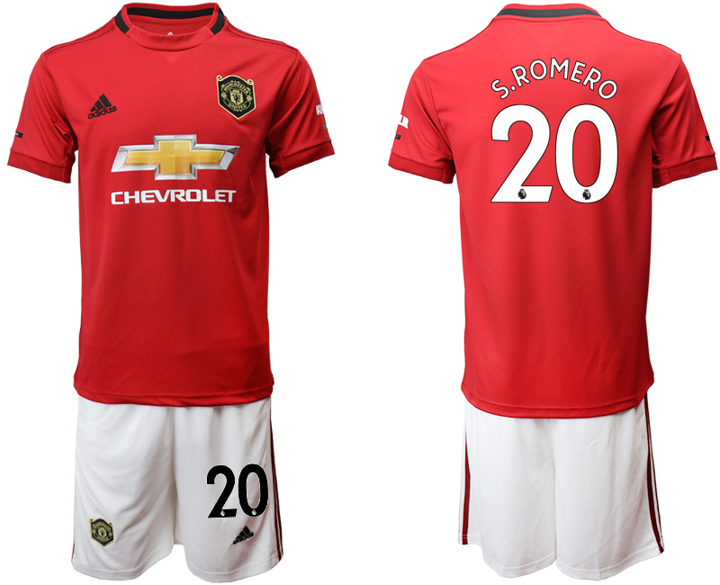 2019-20 Manchester United 20 S.ROMERO Home Soccer Jersey