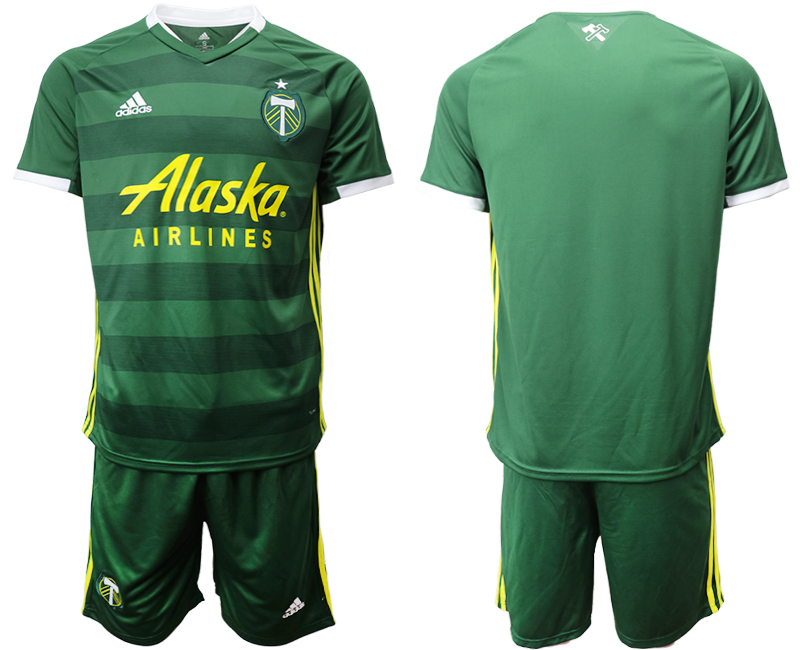 2019-20 Portland Timbers Home Soccer Jersey