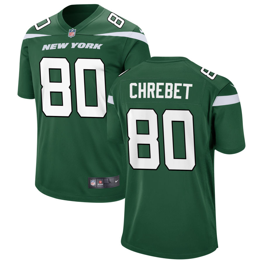 Nike Jets 80 Wayne Chrebet Green New 2019 Vapor Untouchable Limited Jersey