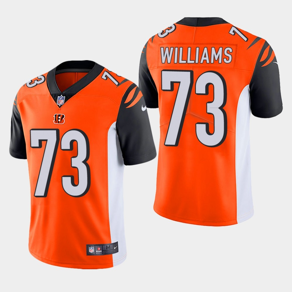 Nike Bengals 73 Jonah Williams Orange Youth 2019 NFL Draft First Round Pick Vapor Untouchable Limited Jersey