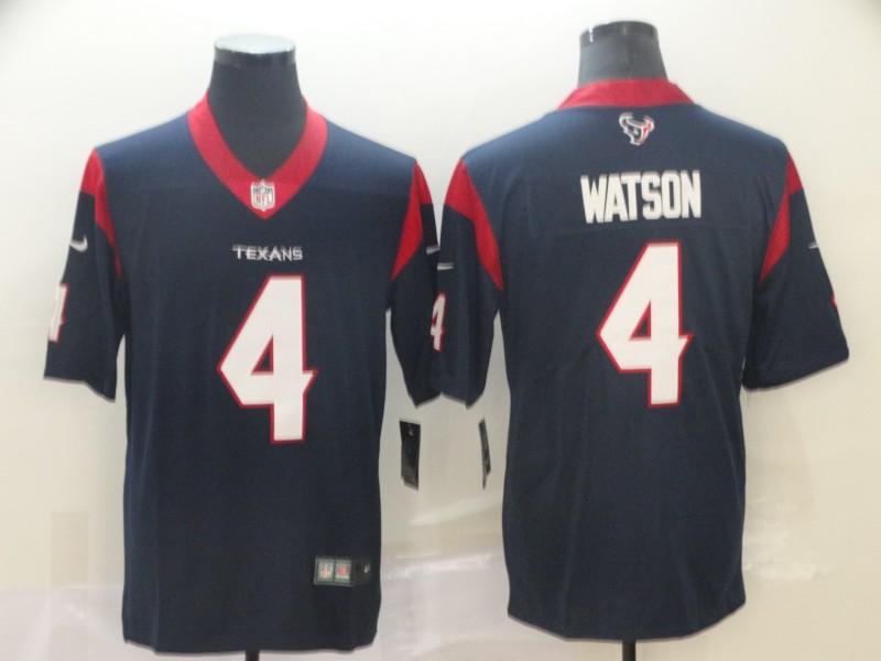 Nike Texans 4 Deshaun Watson Navy New 2019 Vapor Untouchable Limited Jersey