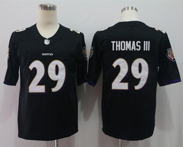 Nike Ravens 29 Earl Thomas III Black Vapor Untouchable Limited Jersey