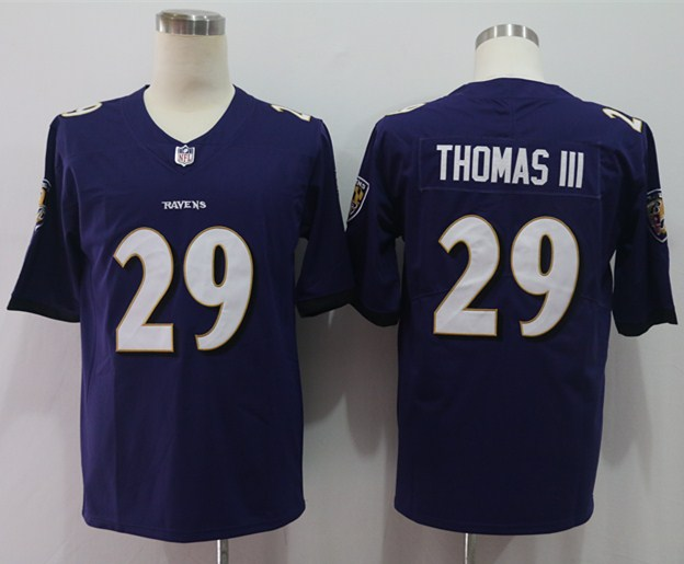 Nike Ravens 29 Earl Thomas III Purple Vapor Untouchable Limited Jersey