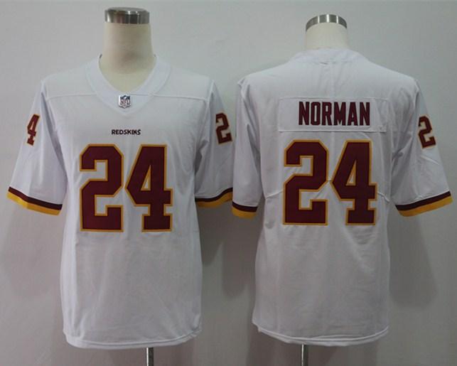 Nike Redskins 24 Josh Norman White Vapor Untouchable Player Limited Jersey