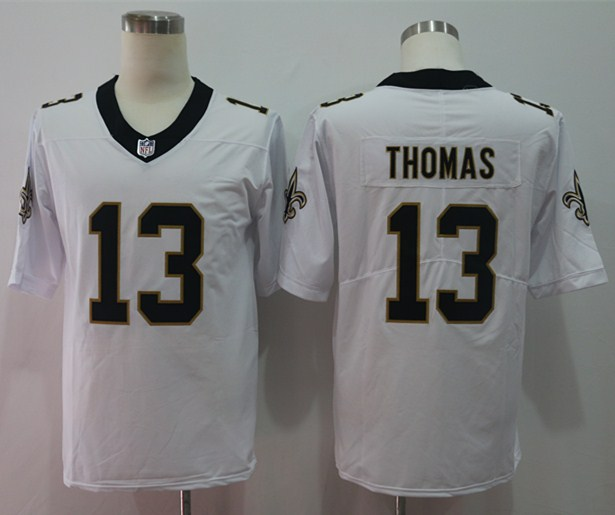 Nike Saints 13 Michael Thomas White Vapor Untouchable Limited Jersey