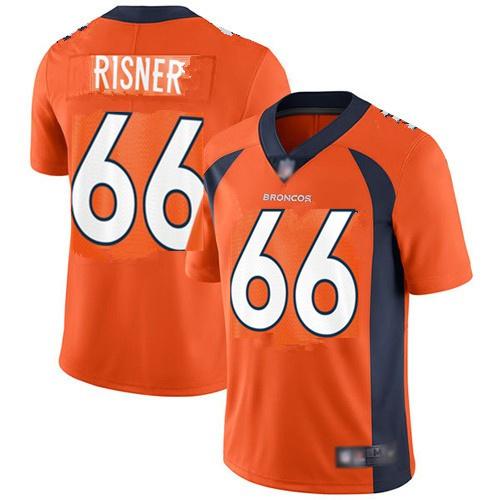 Nike Broncos 66 Dalton Risner Orange Vapor Untouchable Limited Jersey