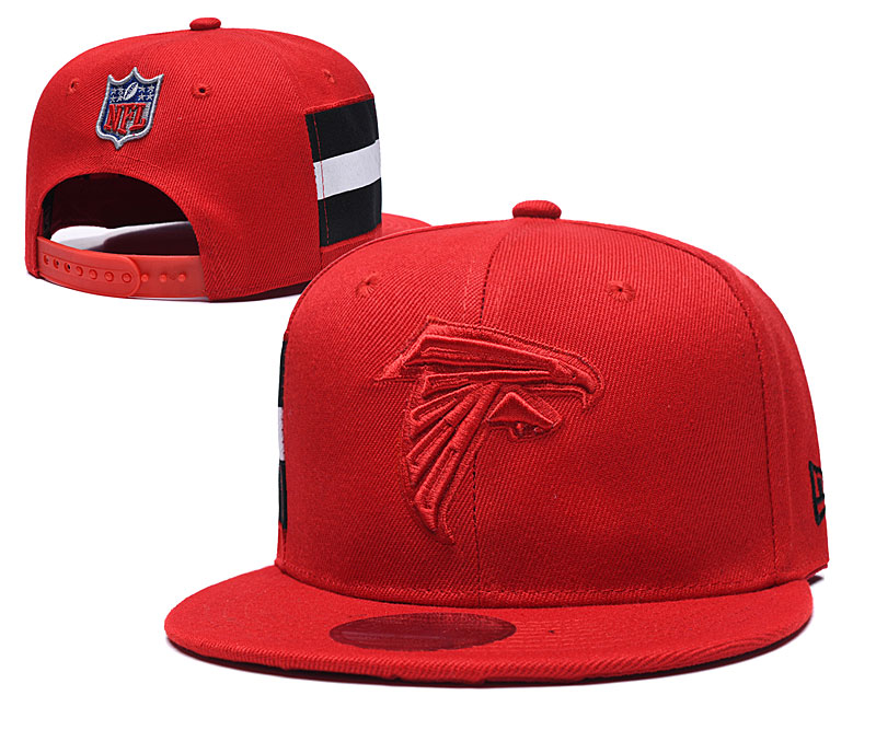 Falcons Team Logo Red Adjustable Hat LT