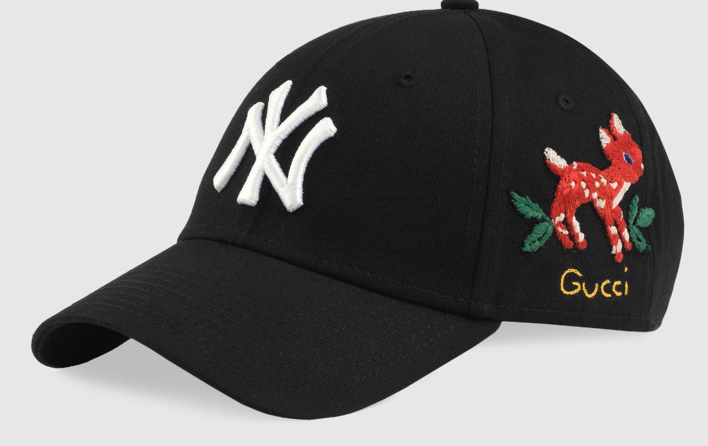 Yankees Team Logo Black peacked Adjustable Hat TX
