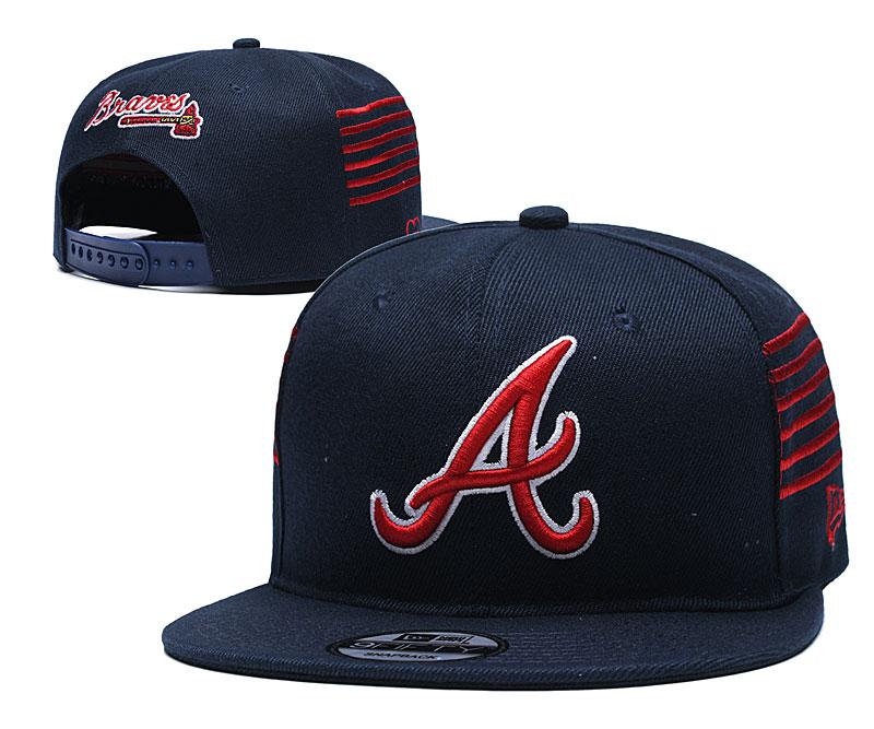 Braves Team Logo Green Adjustable Hat YD
