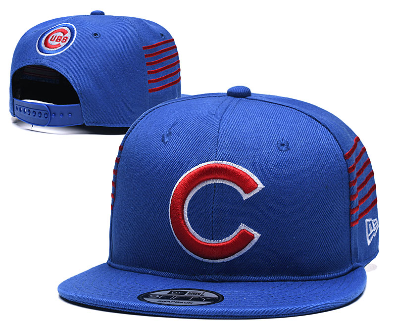Cubs Team Logo Blue Adjustable Hat YD