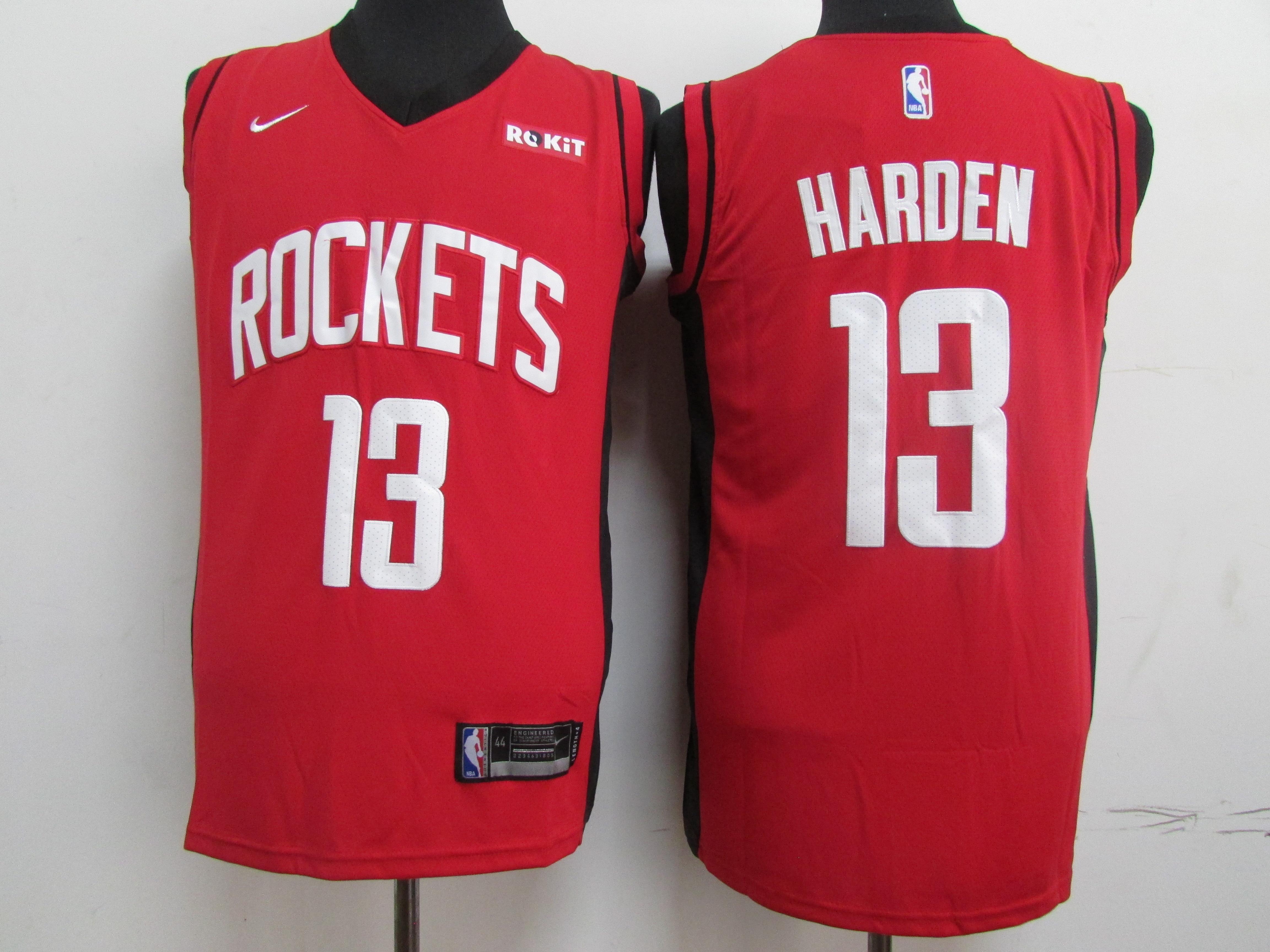 Rockets 13 James Harden Red Nike Swingman Jersey.jpeg
